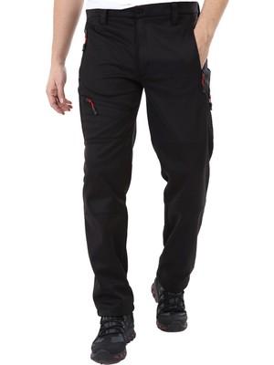 Ghassy Co. Ghassy Co.erkek Tactical Outdoor Su Geçirmez Siyah Softshell Pantolon