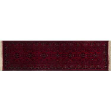 allmode afgan halisi belgic el dokuma hali 83x291cm 2 42m2
