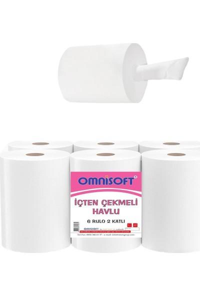 Içten Çekmeli Kağıt Havlu 6 Rulo Omnisoft