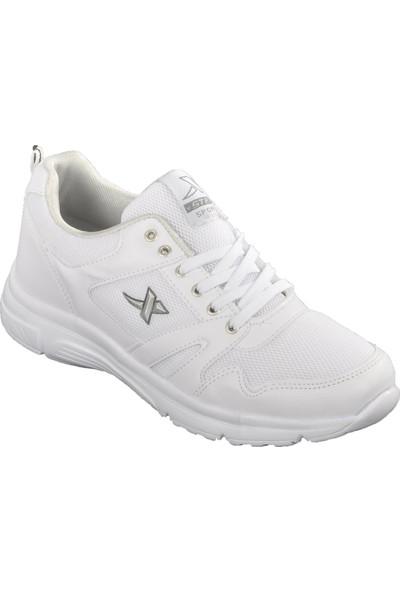 Xstep 020 Beyaz-Beyaz Erkek Spor Ayakkabı