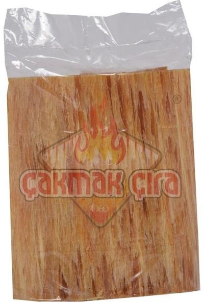 Çakmak Çıra - Doğal Çam Çırası Yaprak 10'lu Paket - Mangal, Soba, Şömine, Barbekü Tutuşturucu