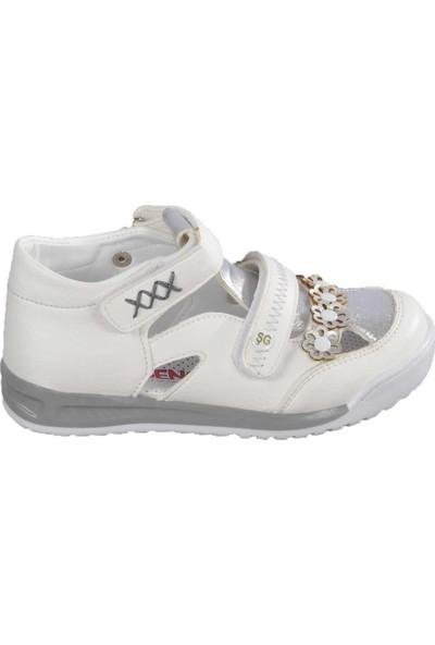 Şiringenç 011 Beyaz-Gümüş Çocuk Günlük Ayakkabı