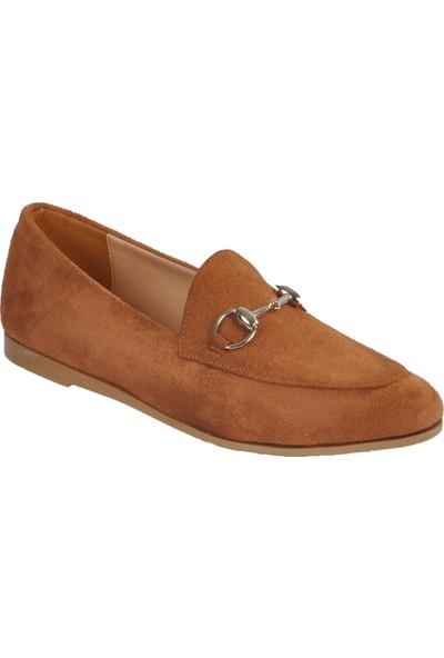 Park Fancy 155536 Taba Süet Kadın Günlük Ayakkabı