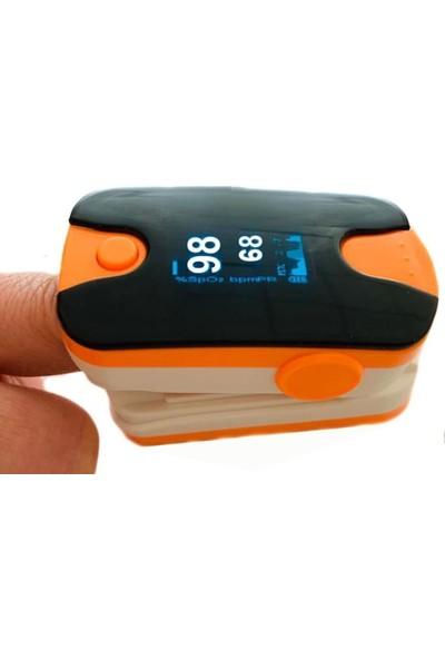 Life Net Medikal Pulse Oksimetre Taşınabilir Parmak Tipi PFX-036 Turuncu