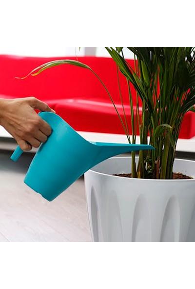 Mini Garden Çiçek Sulama Kabı 1 LT Su Yeşili