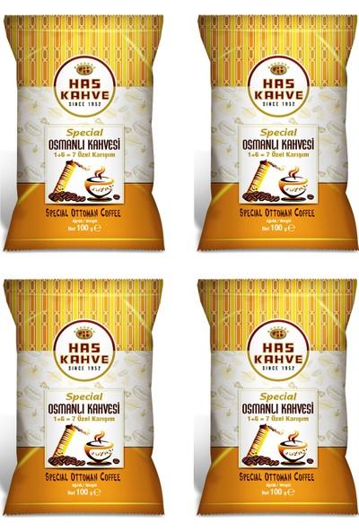Has Kahve Osmanlı Kahvesi 100 gr x 4