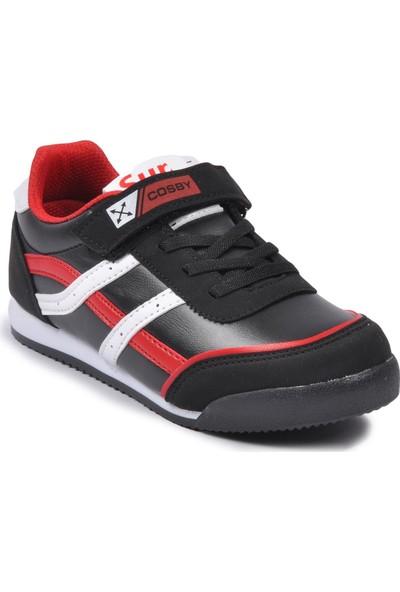 Cosby 3552 Siyah Çocuk Spor Ayakkabı