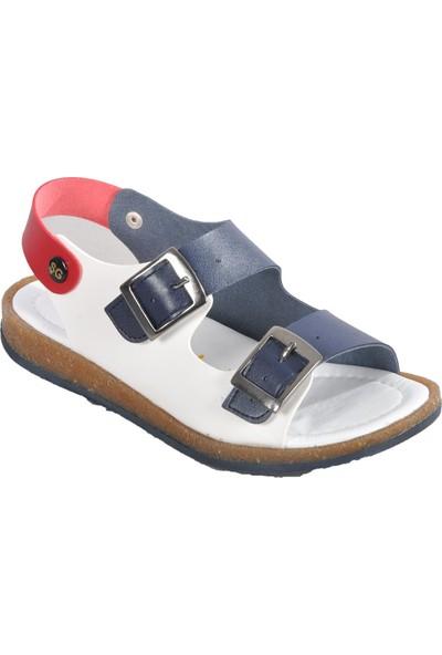 Şiringenç 006 Lacivert-Beyaz Çocuk Sandalet