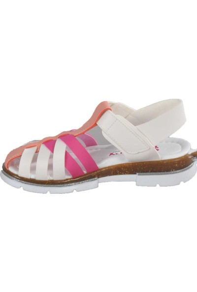 Şiringenç 003 Beyaz-Pembe Çocuk Günlük Ayakkabı