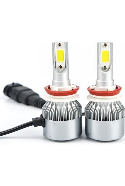 Ysl Blueoto H11 LED Zenon 10800 Lümen Beyaz Renk Şimşek Etkili Xenon