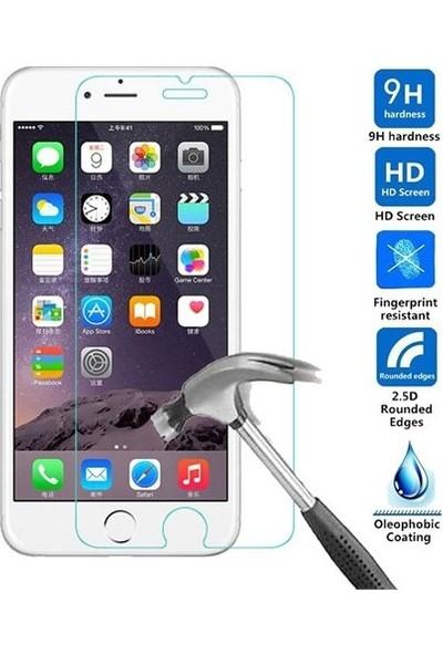 Fibaks Huawei Y6P Ekran Koruyucu 9H Temperli Cam Sert Şeffaf
