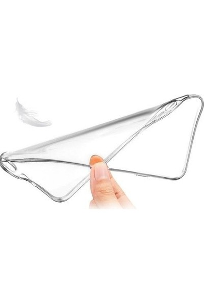 Fibaks Xiaomi Mi 9 Lite Kılıf A+ Şeffaf Lüx Süper Yumuşak 0.3mm Ince Slim Silikon