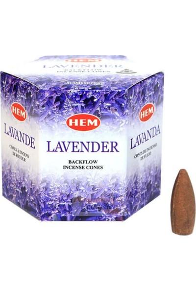 Dünyadan Hediyeler Lavanta Geri Akış Şelale Tütsü Konileri 40 Adet Lavender