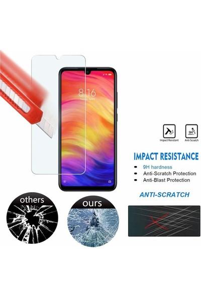 Fibaks Xiaomi Redmi Note 8t Ekran Koruyucu 9H Temperli Cam Sert Şeffaf