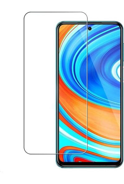 Fibaks Xiaomi Redmi Note 9 Pro Ekran Koruyucu 9H Temperli Cam Sert Şeffaf