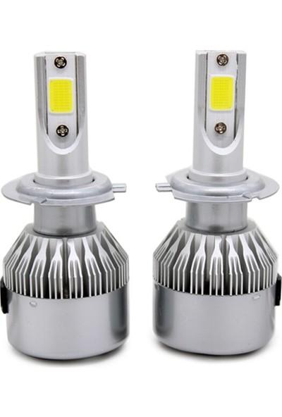 Ysl Blueoto H7 LED Zenon 10800 Lümen Beyaz Renk Şimşek Etkili Xenon