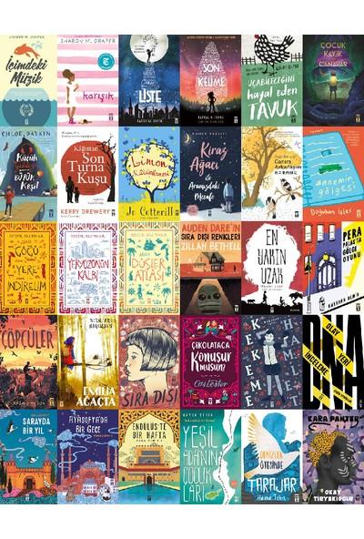 5. 6. 7. 8. Sınıflar İçin Gençlik Romanları 30 Kitap Set (İçimizde Müzik- Göğü Yere İndirelim- Liste- Kiraz Ağacı ile Aramızdaki Mesafe)