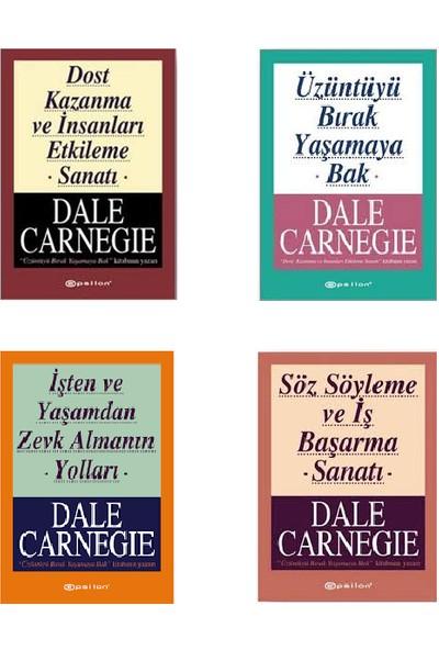 Dale Carnegie 4 Kitap Kişisel Gelişim Seti (Dost Kazanma ve İnsanları Etkileme Sanatı-Üzüntüyü Bırak Yaşamaya Bak-İşten ve Yaşamdan Zevk Almanın Yolları-Söz Söyleme ve İş Başarma Sanat)