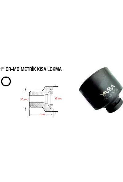 """Yama 1"""" Havalı Siyah Lokma 24 mm YAHLM124"""