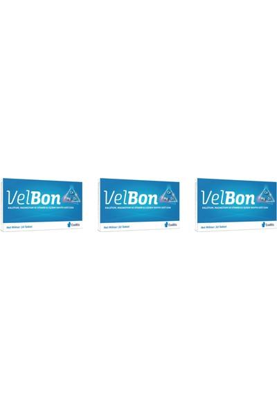 Exeltis Velbon 30 Tablet Takviye Edici Gıda 3'lü Paket