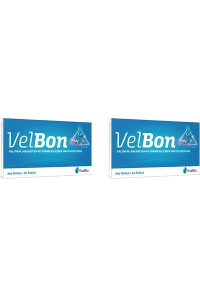 Exeltis Velbon 30 Tablet Takviye Edici Gıda 2'li Paket