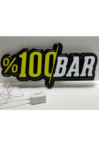 YDR %100 Bar LED Tabela - Işıklı Bar Tabelası