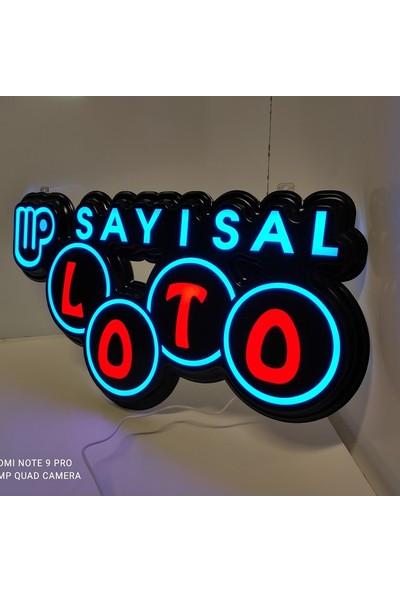 YDR Sayısal Loto LED Tabela - Hazır Sayısal Loto Tabelası