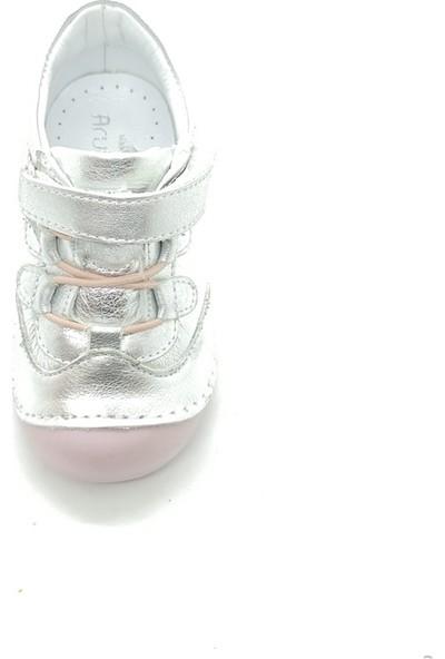 Arulens Anatomik Ortapedik %100 Doğal Gümüş Kız Çocuk Ayakkabı