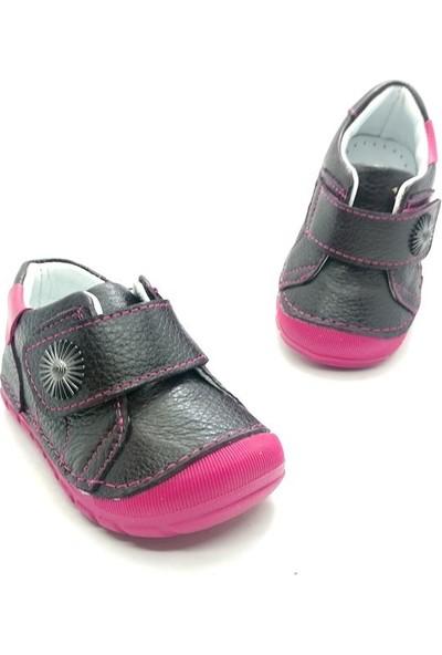 Arulens Anatomik Ortapedik %100 Doğal Kahve Rengi Çocuk Ayakkabı