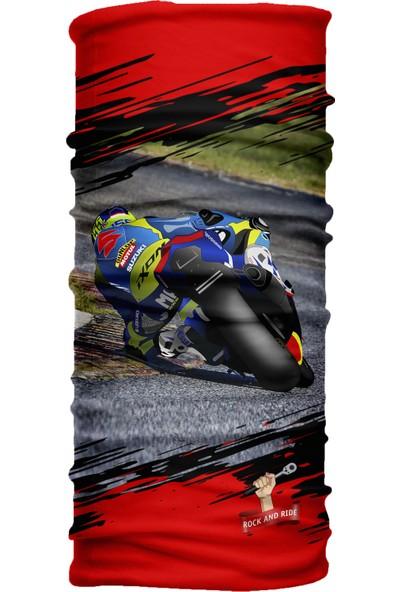 Motoride Suzuki Gsxr Bandana / Buff / Balaklava