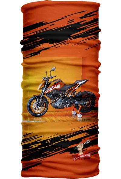 Motoride Ktm Duke Motosiklet Bandana / Buff / Balaklava