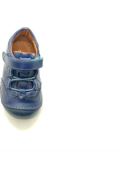 Arulens Anatomik Ortapedik %100 Doğal Lacivert Rengi Ünisex Çocuk Ayakkabı