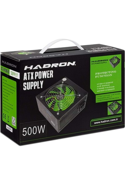 Hadron HD412 Power Supply 500W Kutulu