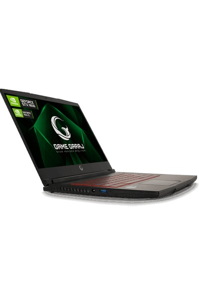 "Game Garaj Hunter 5T-144 C03 I5-10300H GTX1650 16GB 512GB M.2 Freedos 15.6"" Fhd 144Hz Taşınabilir Bilgisayar"