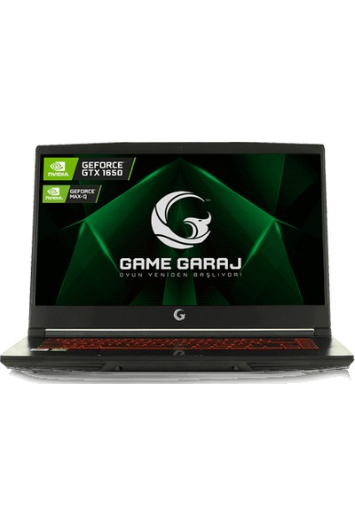 """Game Garaj Hunter 5T-144 C05 I5-10300H GTX1650 16GB 512GB M.2 1tb Freedos 15.6"""" Fhd 144Hz Taşınabilir Bilgisayar"""