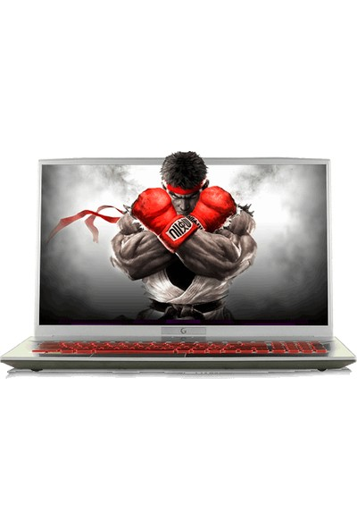 "Game Garaj Fighter 7T-144 C01 I7-10750H Gtx 1650TI 16GB 512GB M.2 Freedos 17.3"" Fhd 144Hz Taşınabilir Bilgisayar"