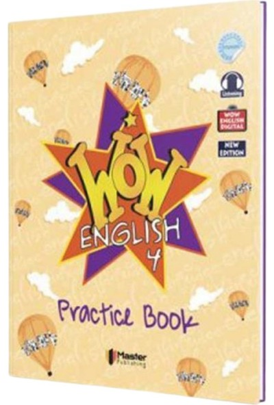 Master 4. Sınıf Wow English Practice Book & Workbook