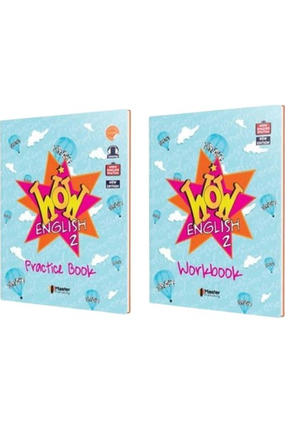 Master 2. Sınıf Wow English Practice Book - Workbook