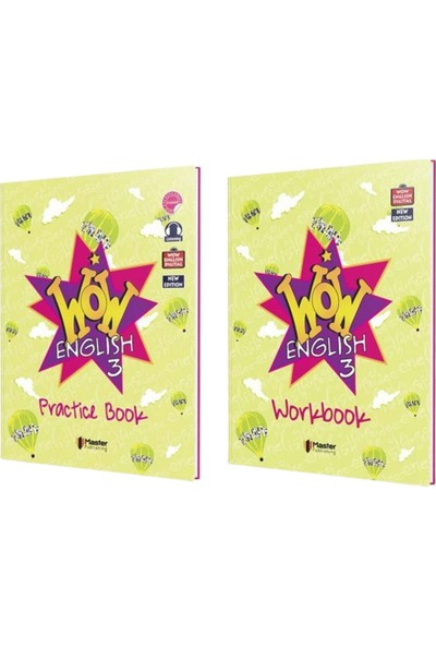 Master 3. Sınıf Wow English Practice Book - Workbook