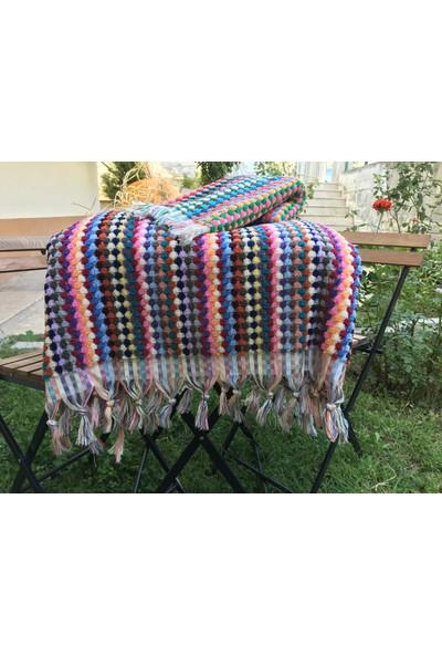 Yavuz Tekstil Banyo Havlusu 2 Li Takım Mandrill Model %100 Pamuk