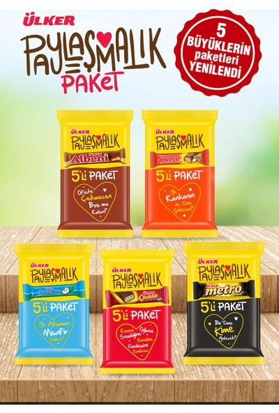 Ülker 5 Büyükler Çikolata Paketi