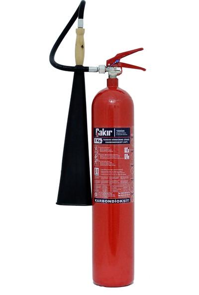 Çakır 5 kg Karbondioksitli Yangın Tüpü