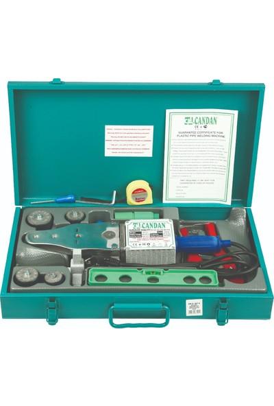 Candan Komple Kaynak Makina Seti (20-40 Mm) Paftalı Vakumlu 850+650 Watt (75 Mm'e Kadar Kaynak Yapılabilir)