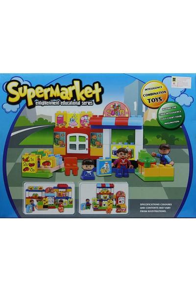 Eğitici, 54 Parça Süpermarket LEGO Seti - Eğitici Oyuncak