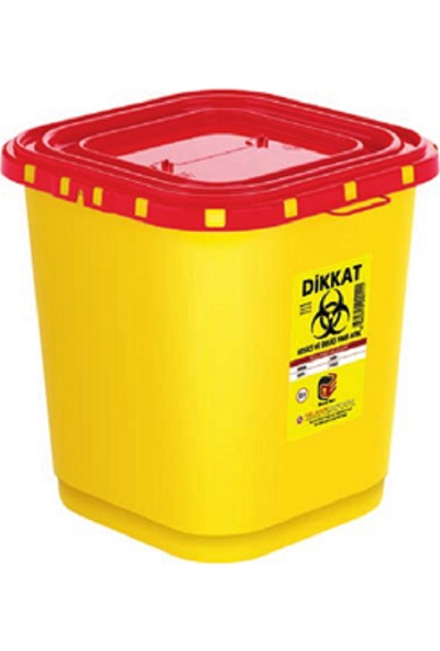 Telkar Tıbbi Enfekte Atık Kutusu 10 x 30 lt