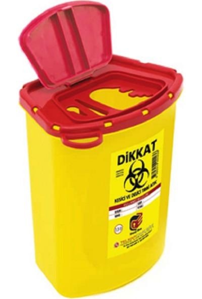 Telkar Tıbbi Enfekte Atık Kutusu 20 Adet x 1,3 lt