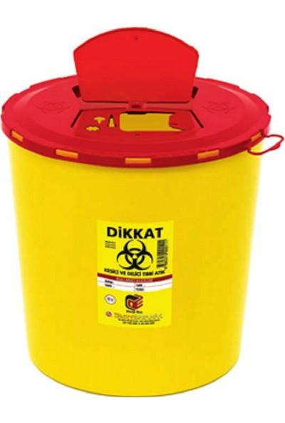Telkar Tıbbi Enfekte Atık Kutusu 20 Adet x 10 lt