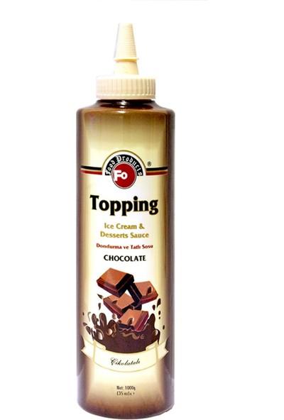 Fo Çikolata Topping Sos 1 kg