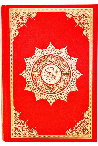 Medrese Kitabevi Kuran Orta Boy (Makrepli) Kırmızı