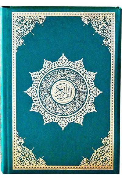 Medrese Kitabevi Kuran Orta Boy (Makrepli) Yeşil